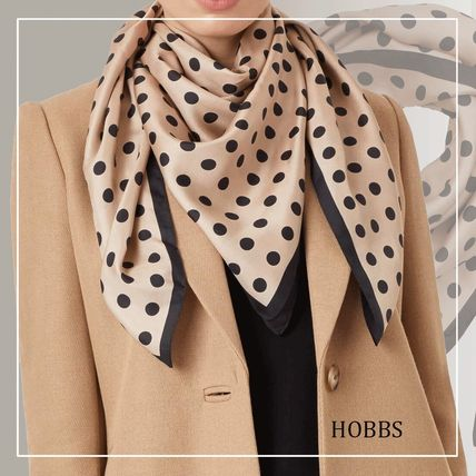 Dots Casual Style Silk Party Style Elegant Style