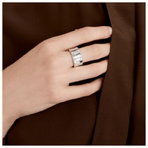 HERMES Evelyne Casual Style Unisex Party Style Silver Elegant Style