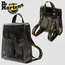 Dr Martens Casual Style Unisex Street Style Plain Backpacks