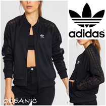adidas Stripes Long Sleeves Lace Tops