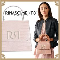 Rinascimento Casual Style 2WAY Plain Other Animal Patterns Leather