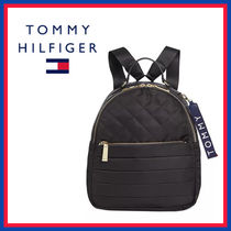 Tommy Hilfiger Casual Style Unisex Faux Fur Street Style Plain Office Style