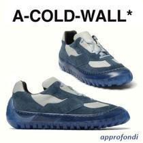 A-COLD-WALL Suede Blended Fabrics Street Style Plain Leather Sneakers
