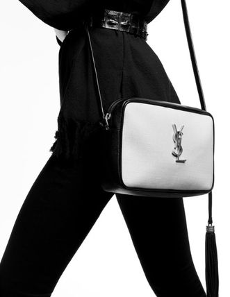 Leather Crossbody Logo Shoulder Bags