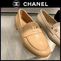 CHANEL Plain Toe Casual Style Plain Party Style Home Party Ideas