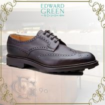 Edward Green Wing Tip Leather Oxfords