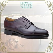 Edward Green Straight Tip Leather Oxfords