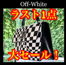 Off-White Gingham Zebra Patterns Other Check Patterns Casual Style