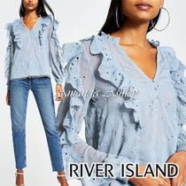 River Island Casual Style Long Sleeves Medium Party Style
