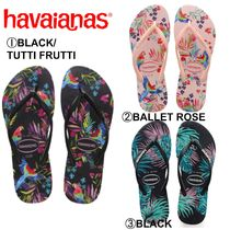 havaianas Tropical Patterns Casual Style Sandals Sandal