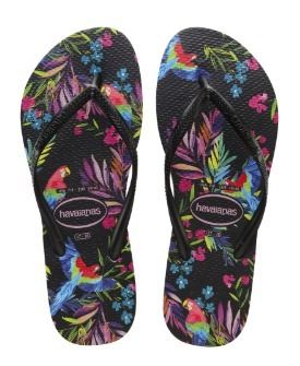Tropical Patterns Casual Style Sandals