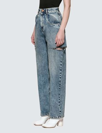 Maison Margiela More Jeans Denim Plain Logo Jeans 2