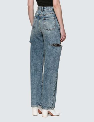 Maison Margiela More Jeans Denim Plain Logo Jeans 3