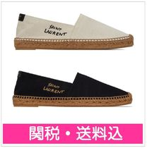 Saint Laurent Logo Flats