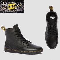 Dr Martens Platform Mountain Boots Round Toe Casual Style Street Style