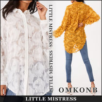 Little Mistress Casual Style Long Sleeves Long Party Style Office Style