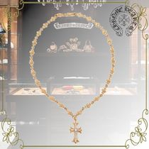 CHROME HEARTS Unisex Chain 22K Gold Necklaces & Chokers