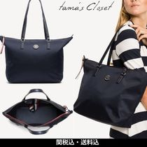 Tommy Hilfiger Casual Style A4 Plain Office Style Totes