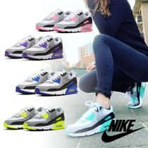 Nike AIR MAX 90 Casual Style Unisex Logo Low-Top Sneakers