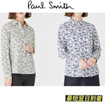 Paul Smith Casual Style Long Sleeves Other Animal Patterns Cotton