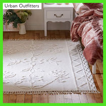Urban Outfitters Flower Patterns Unisex Blended Fabrics Street Style