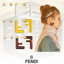 FENDI Casual Style Blended Fabrics Street Style Party Style