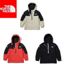 THE NORTH FACE WHITE LABEL Unisex Petit Street Style Oversized Kids Girl Outerwear