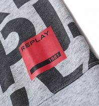 REPLAY Sweatshirts Crew Neck Long Sleeves Cotton Logo Sweatshirts 5