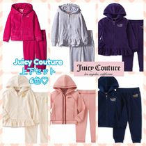 JUICY COUTURE Blended Fabrics Street Style Oversized Glitter Co-ord