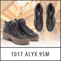 ALYX Mountain Boots Street Style Collaboration Plain Leather