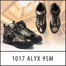 ALYX Mountain Boots Faux Fur Blended Fabrics Street Style Leather