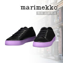marimekko Rubber Sole Casual Style Street Style Leather