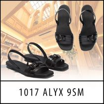 ALYX Open Toe Casual Style Plain Leather Party Style