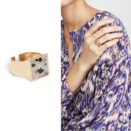 Isabel Marant Golden Mother Ring