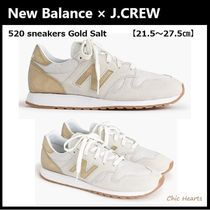 New Balance Casual Style Suede Collaboration Low-Top Sneakers