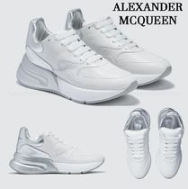 alexander mcqueen Street Style Collaboration Plain Sneakers