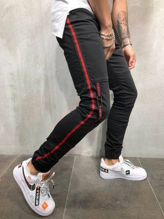 Gentleman To Be Street Style Joggers Jeans