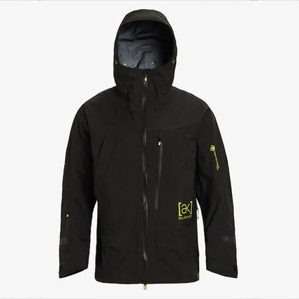 Short Plain Gore-Tex Jackets