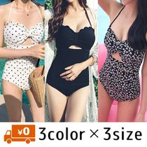 Flower Patterns Dots Plain Halter Bikinis
