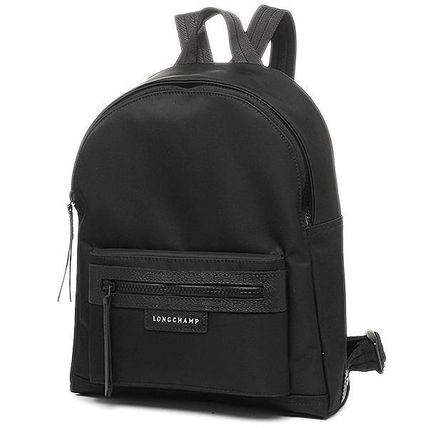 Longchamp LE PLIAGE NEO Nylon Plain Logo Backpacks