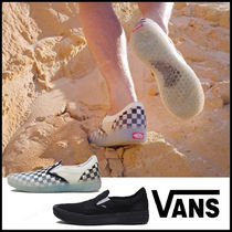 VANS SLIP ON Other Check Patterns Casual Style Unisex Street Style