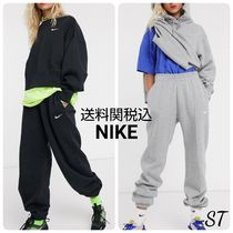 Nike Casual Style Sweat Blended Fabrics Street Style Plain Cotton