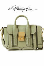 3.1 Phillip Lim Casual Style 2WAY Plain Leather Party Style Office Style