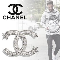 CHANEL Star Unisex Street Style Metal With Jewels Watches & Jewelry