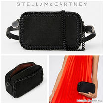 Stella McCartney FALABELLA Casual Style Blended Fabrics 2WAY Chain Plain Party Style