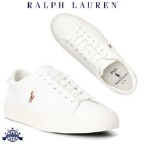 Ralph Lauren Plain Leather Sneakers