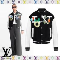 Louis Vuitton Crochet Flowers Varsity Jacket