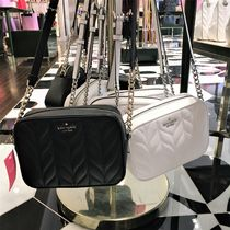 kate spade new york Casual Style Leather Party Style Crossbody Camera Bag