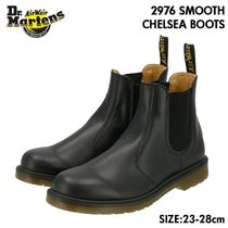 Dr Martens 2976 Unisex Plain Leather Chelsea Boots Ankle & Booties Boots