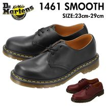 Dr Martens 1461 Unisex Plain Leather Loafer & Moccasin Shoes